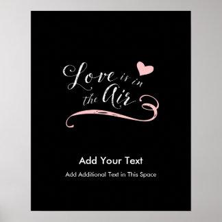 El amor está en el aire - el día de San Valentín o Póster