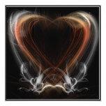El amor está en el aire invitación 13,3 cm x 13,3cm
