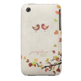 El amor está en el aire iPhone 3 protectores