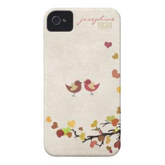 El amor está en el aire iPhone 4 Case-Mate cárcasa