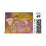 el amor está en el aire - modificado para sello postal