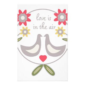 El amor está en el aire papelería