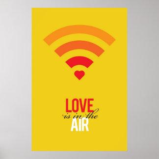 El amor está en el aire poster