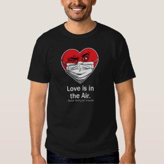 El amor está en el aire remeras