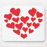 ¡el amor está en el aire! tapetes de raton