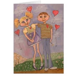 El amor está en el aire felicitación