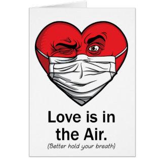 El amor está en el aire tarjeta