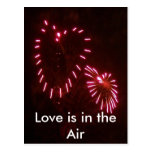 el amor está en el aire tarjeta postal