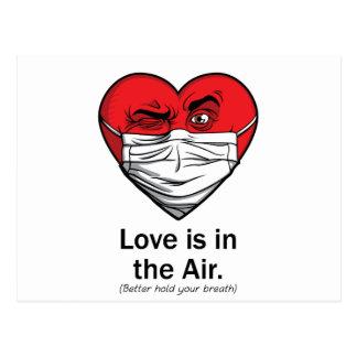 El amor está en el aire postal