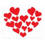 ¡el amor está en el aire! tarjetas postales