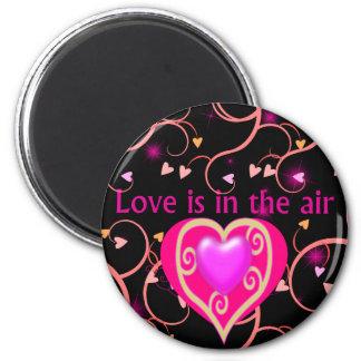 el amor está en el imán del aire