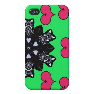El amor está en la caja de la mota del iPhone 4 de iPhone 4 Coberturas