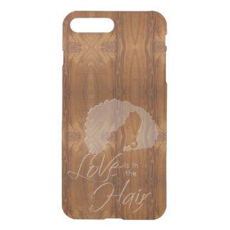 El amor está en la cera del pelo en la mirada de fundas para iPhone 7 plus