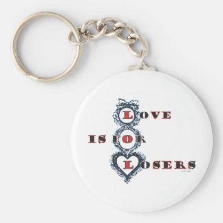 El amor está para el llavero anti de la tarjeta de