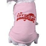 El amor está para las langostas ropa de perros
