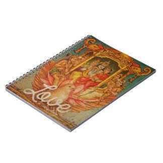 El amor está por todas partes cuaderno