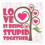 El amor está siendo junto - 3 estúpidos