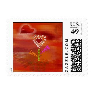 El amor florece sello