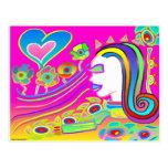 El amor florecerá: Espacio ideal Postal