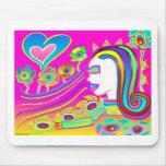 El amor florecerá: Espacio ideal Tapetes De Ratón