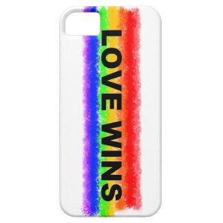 El amor gana el caso del iPhone iPhone 5 Funda