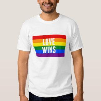 El AMOR GANA la camiseta de la victoria del Remeras