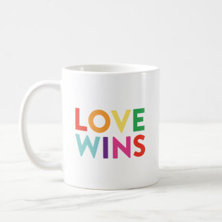 El amor gana la taza de café del |