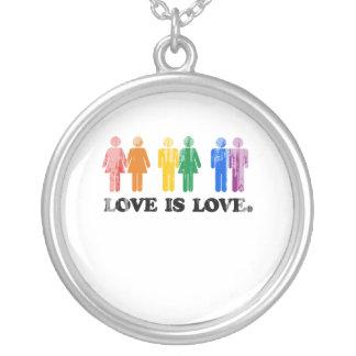 El amor gay del humor es los colores Faded.png del Colgante Redondo