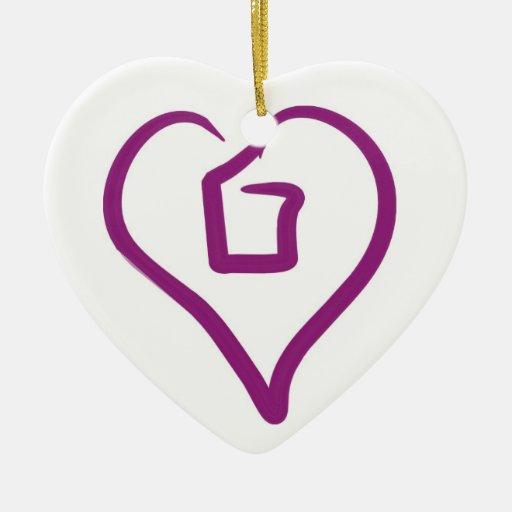 El amor hace a una familia -- LoveOTB adaptable Or Adornos
