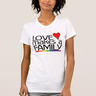 El amor hace a una familia top sin mangas
