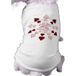 El amor hace… Camisa del perro Camisa De Perrito