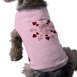 El amor hace… Camisa del perro Prenda Mascota