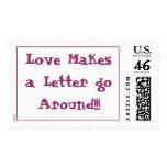 ¡El amor hace que una letra circunda!!!
