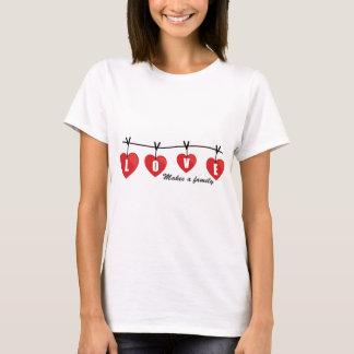 El amor hace un *Hearts* de la familia Playera