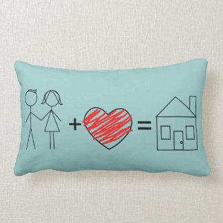 El amor iguala las almohadas caseras de MoJo del a