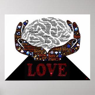 El amor incondicional es la trayectoria a la uno impresiones