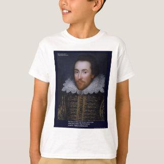 El amor/las persianas de Shakespeare cita en las Polera