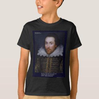 El amor/las persianas de Shakespeare cita en las Poleras