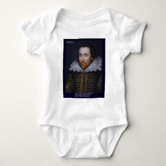 El amor/las persianas de Shakespeare cita en las Remera