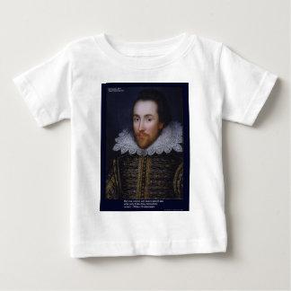 El amor/las persianas de Shakespeare cita en las Remeras