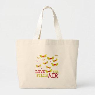 El amor llena el aire bolsa