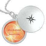 El amor - locket de la plata esterlina joyerías
