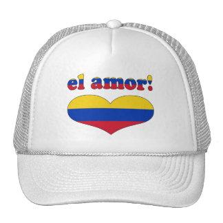 El Amor! - Love in Venezuelan Valentine's Day Trucker Hat