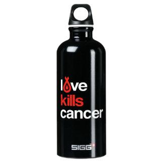 El amor mata al cáncer - taza del viajero