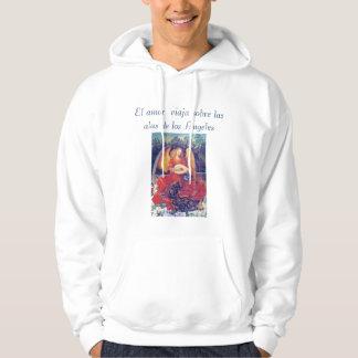 El amor mens hoodie