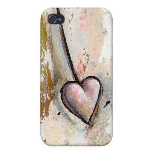 El amor no es arte expresivo crudo hermoso perfect iPhone 4/4S funda