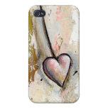 El amor no es arte expresivo crudo hermoso perfect iPhone 4/4S carcasas