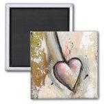 El amor no es arte expresivo crudo hermoso perfect imanes para frigoríficos