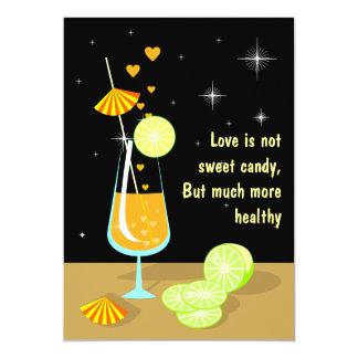 El amor no es invitación de encargo de RSVP del