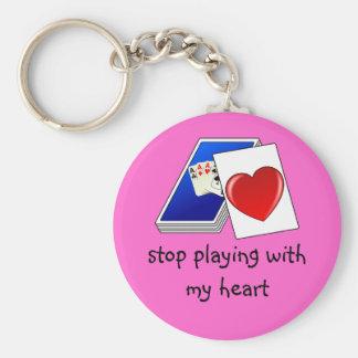 El amor no es un Slop del juego de tarjeta que jue Llaveros Personalizados